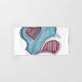 Abstract Continent Land Mass Country Hand & Bath Towel