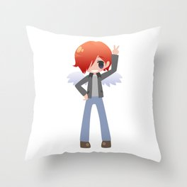 Toshi [Commission] Throw Pillow