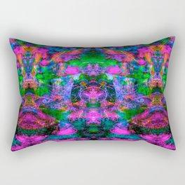 Ultraviolet Totem III Rectangular Pillow