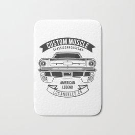 custom muscle Bath Mat