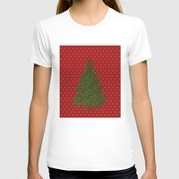 christmas tree T-shirts featuring *(Christmas) Tree* by Mr and Mrs Quirynen