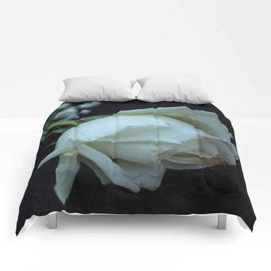 White Rose Comforters