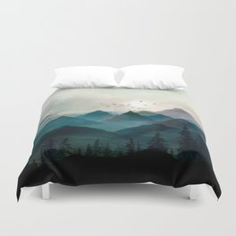 Mountain Sunrise II Duvet Cover