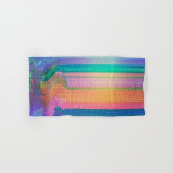 Glitch 02 Hand & Bath Towel