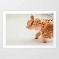 The Hindu elephant Art Print