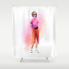 Streetstyle no 25 Shower Curtain