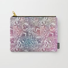 Theta Print-Pastel Carry-All Pouch