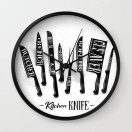 Kitchen knife Wall Clock