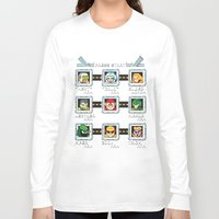 rogue Long Sleeve T-shirts featuring Rogue Masters by thom2maro