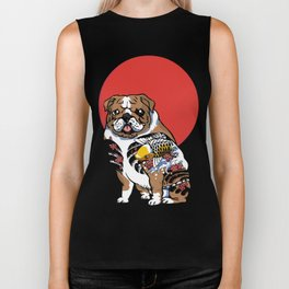 Yakuza English Bulldog Biker Tank