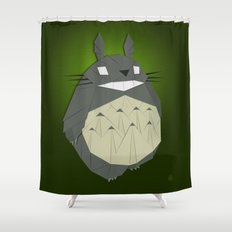 Totorigami Shower Curtain