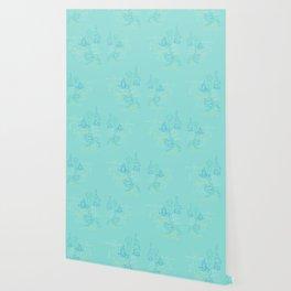 Turquoise Yoga Wallpaper