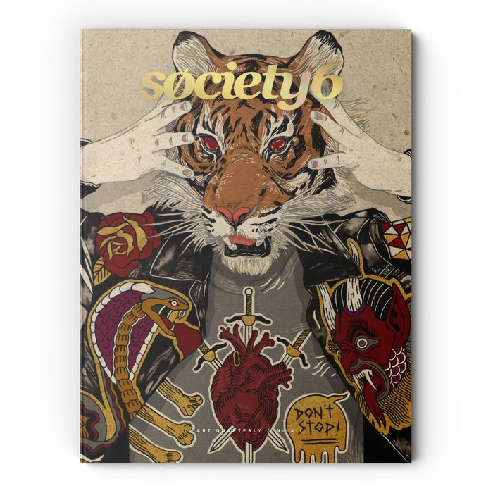 No. 4.1 + Flipside x Tattly Temporary Tattoo Collab Art Quarterly