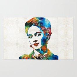 Frida Kahlo Art - Viva La Frida - By Sharon Cummings Rug