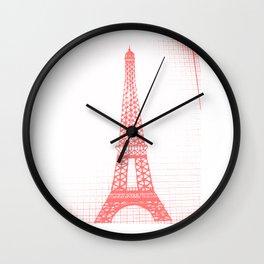 Eiffle Tower Wall Clock