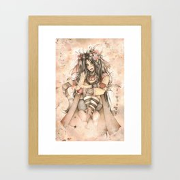 She who must be Obeyed Framed Art Print