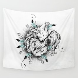 Little Fox Wall Tapestry