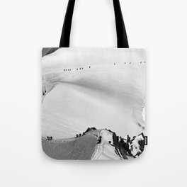 Team of mountaineers Tote Bag