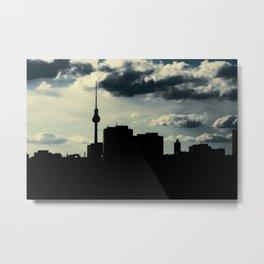 Skyline, Berlin Metal Print