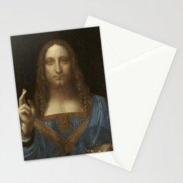 Leonardo da Vinci - Salvator Mundi Stationery Cards