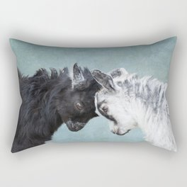 Baby Goats Rectangular Pillow