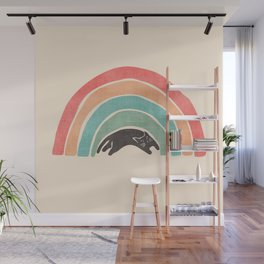 I'ma wittle wainbow Wall Mural