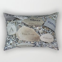 To Our Happy Future... Rectangular Pillow