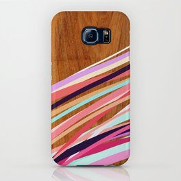Wooden Waves Coral iPhone Case