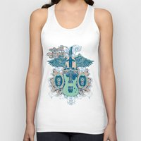 guitar Tank Tops featuring Guitar  by Tshirt-Factory
