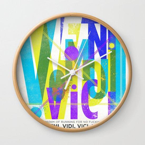 Veni, Vidi, Vici. Vomui. #2 Wall Clock