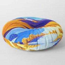 Rockwell Kent Vermont Study Floor Pillow