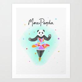 MarziPanda Art Print