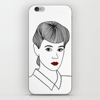 blade runner iPhone & iPod Skins featuring Rachael. Blade Runner by Whiteland