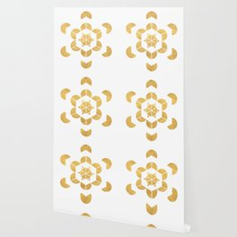 HEXAHEDRON CUBE sacred geometry Wallpaper