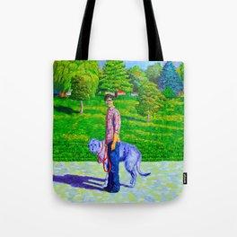 Portrait of Phil and Daniel Tote Bag