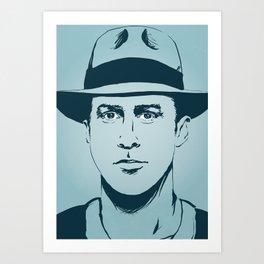 Gosling Art Print