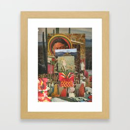The Pineapple Man Framed Art Print