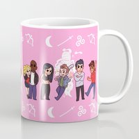 teen wolf Mugs featuring Teen Wolf! by Made of Tin