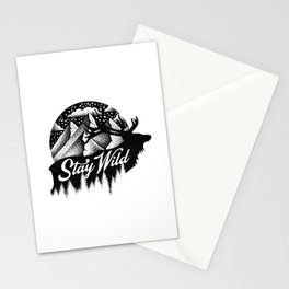 STAY WILD Stationery Cards