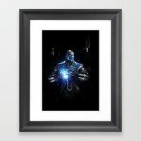 Sub-Zero Framed Art Print
