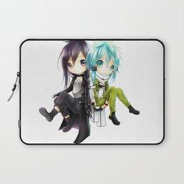 kirito and sinon Laptop Sleeve