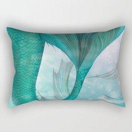Mermaids Fantasy Pastel Sea Ocean Rectangular Pillow