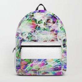 Rock n' roll skulls Backpack