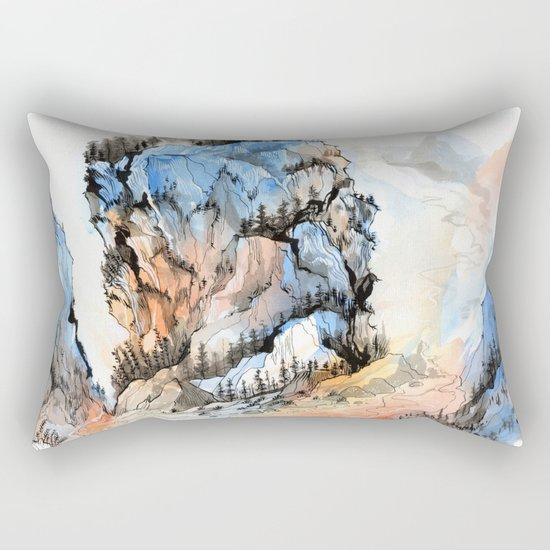 Mountscape Rectangular Pillow