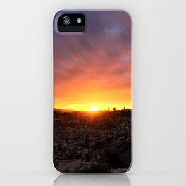 Jerusalem Sunset iPhone Case