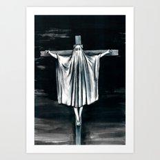 Blasphemi Exspiravit Art Print