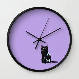 BlackCat Wall Clock