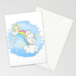 Collab Art RYE - Jugando en el Arco Iris Stationery Cards