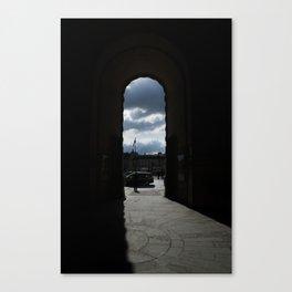 Giant Door Canvas Print