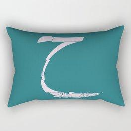 Arabic Letter - 7 Rectangular Pillow